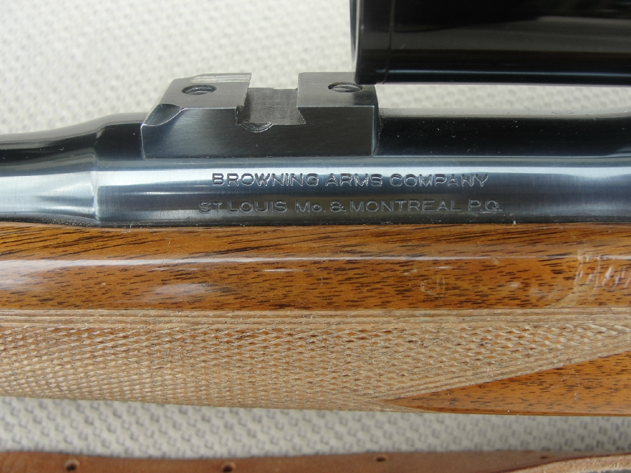 - BROWNING FN HIGH POWER SAFARI 308 W/PERIOD SCOPE - Picture 3