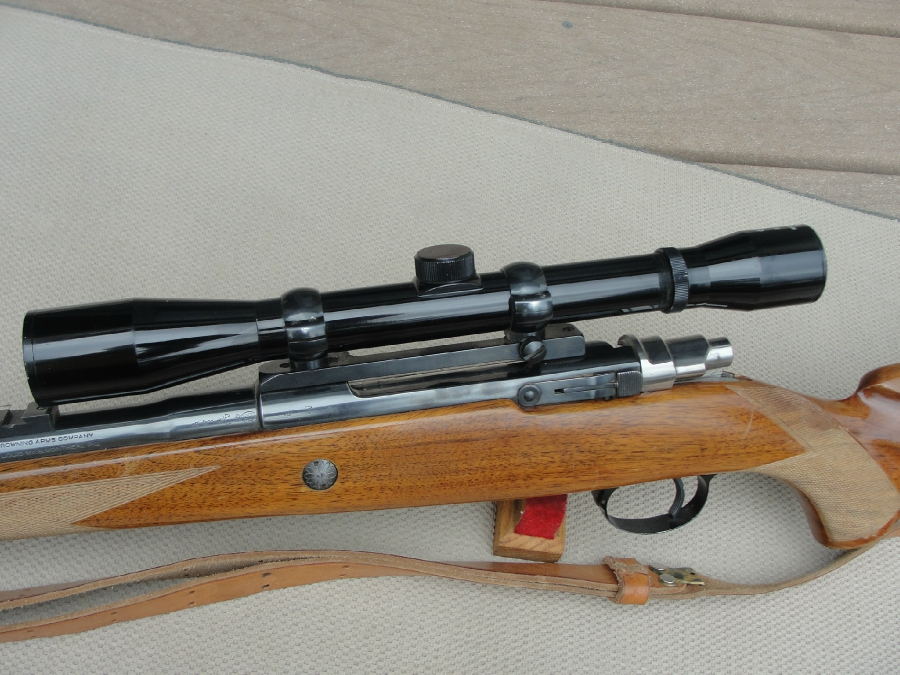 - BROWNING FN HIGH POWER SAFARI 308 W/PERIOD SCOPE - Picture 5
