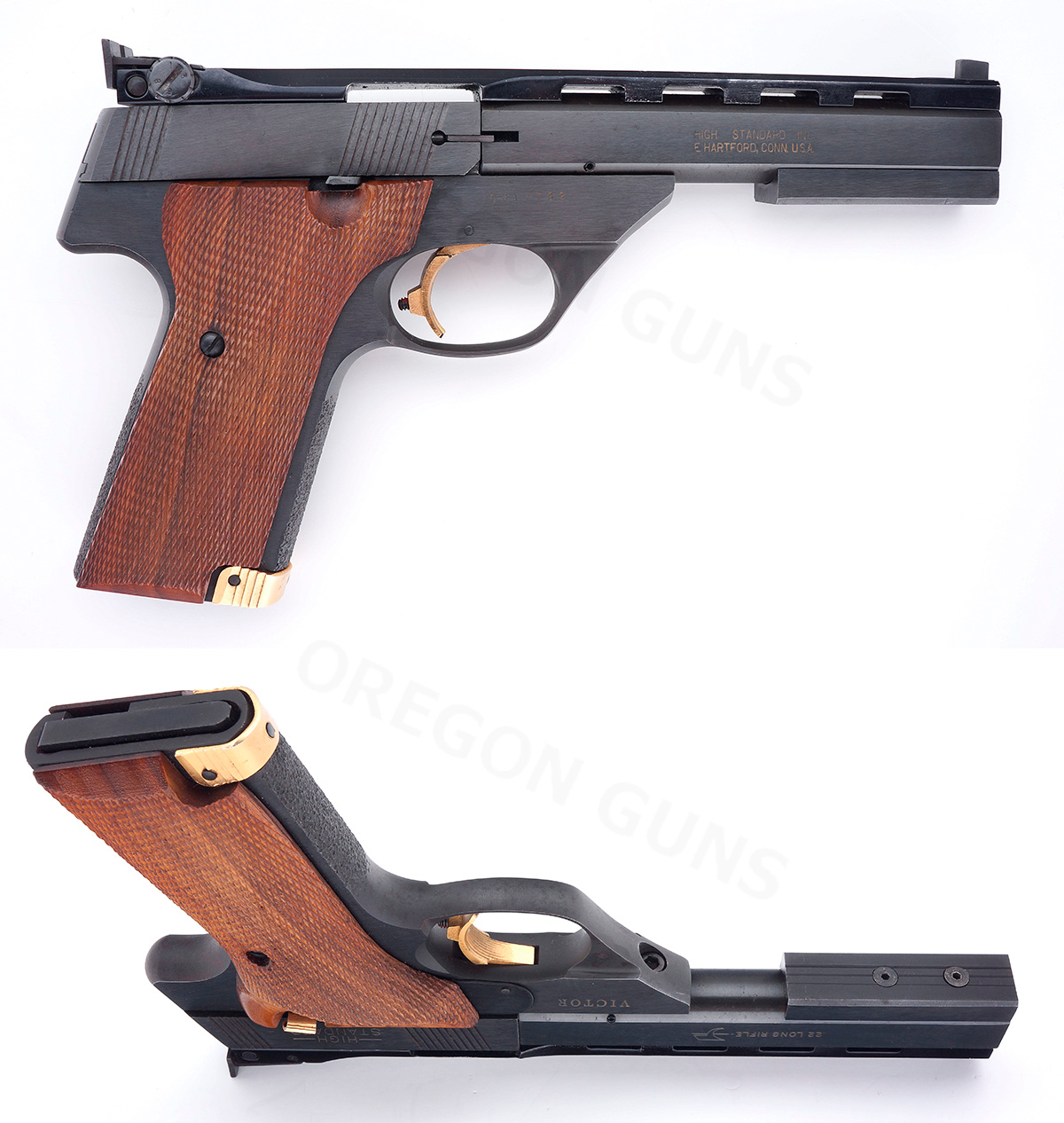 High Standard THE VICTOR SEMIAUTO .22 LR TARGET PISTOL SN# SH17799 .22 LR - Picture 2