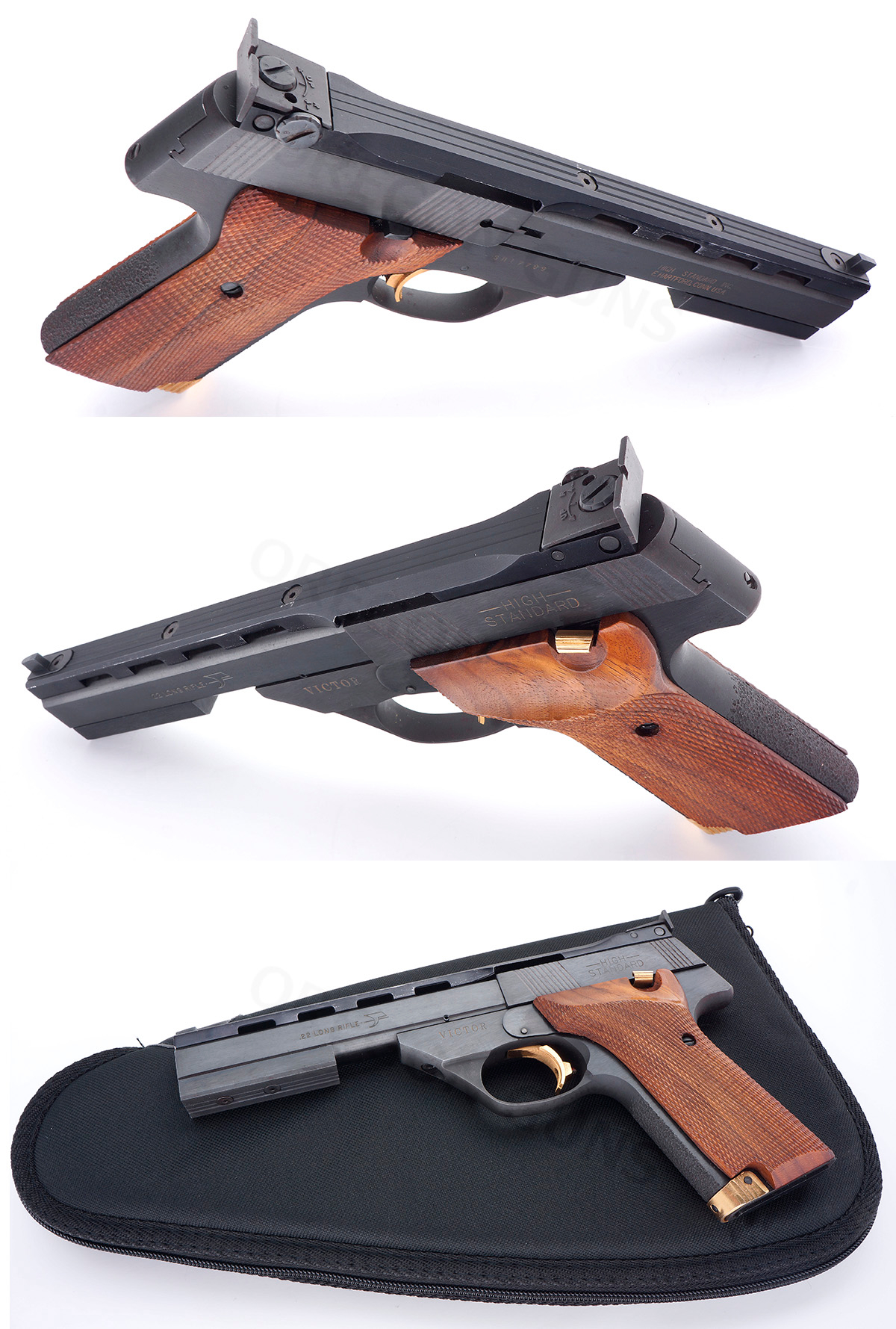 High Standard THE VICTOR SEMIAUTO .22 LR TARGET PISTOL SN# SH17799 .22 LR - Picture 4
