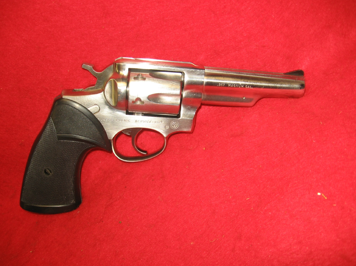 Ruger Model Service Six .357 Magnum - Picture 3