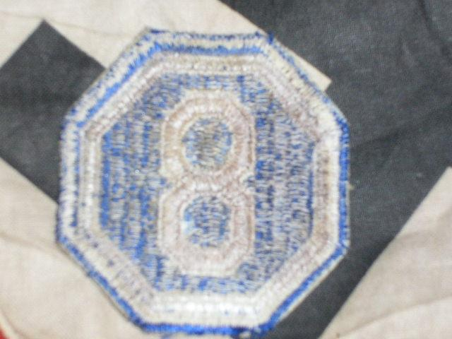 Scarce WW2 Era US Army VIII (8th) Corp Patch-NICE! - Picture 2