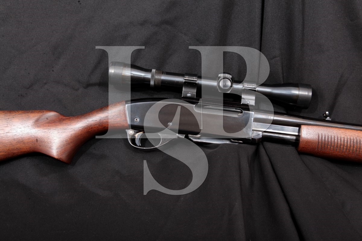 Remington Model 760 Gamemaster, Blue, 22 Pump Action Rifle & Scope, Mfd  1957, C&R  270 Win