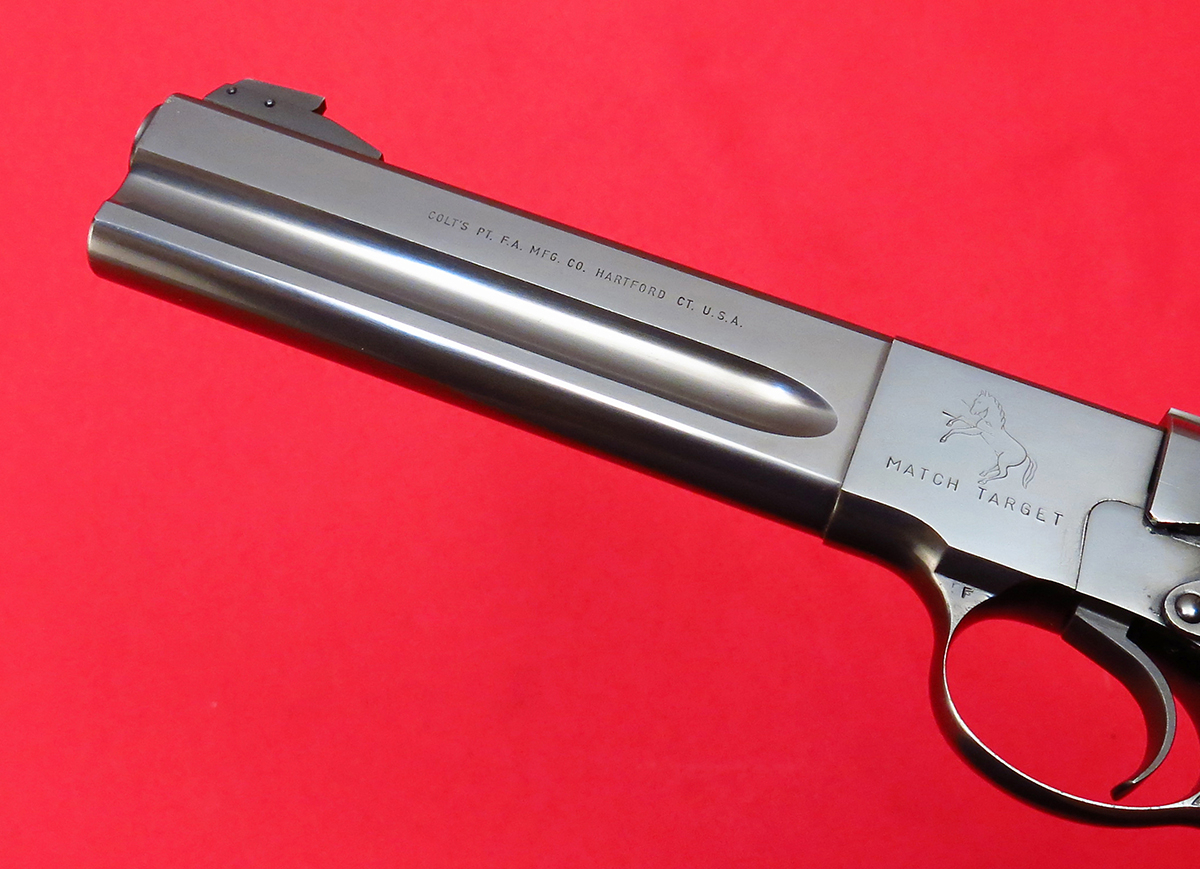 COLT - ~ WOODSMAN MATCH TARGET...EARLY 3RD SERIES, MFD 1956, C&R...NO RESERVE! - Picture 4
