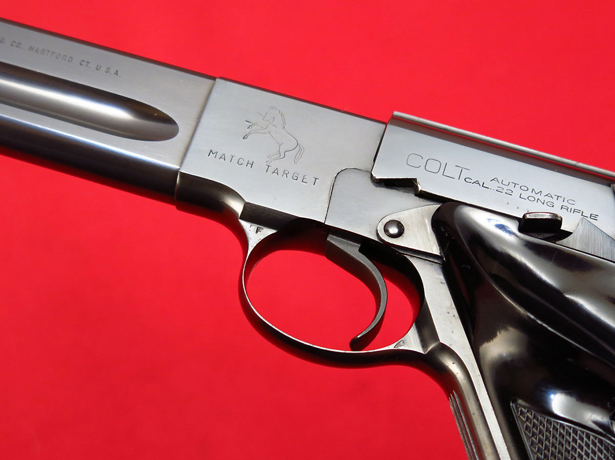 COLT - ~ WOODSMAN MATCH TARGET...EARLY 3RD SERIES, MFD 1956, C&R...NO RESERVE! - Picture 5