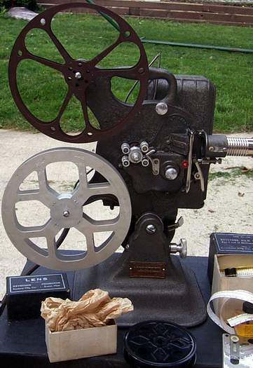 EARLY ANTIQUE COMPLETE KEYSTONE MOVIE EQUIP. SET - Picture 1