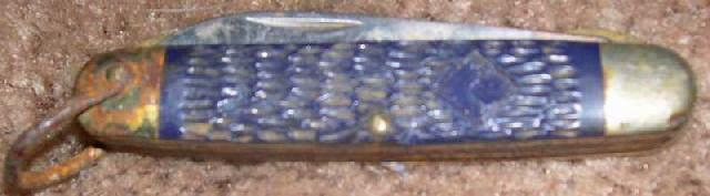 Early Boy Scout Weblo scout pocket knife - Picture 1