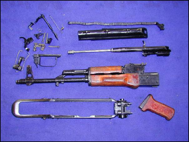 1976 Russian Akms Parts Kit, Ak-47 Ak47 Type, Vg