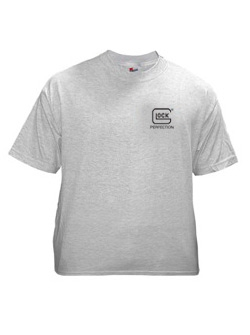 Short Sl AA03003 GLAA03003 GLOCK PERFECTION T-SHIRT ASH MED - Picture 1