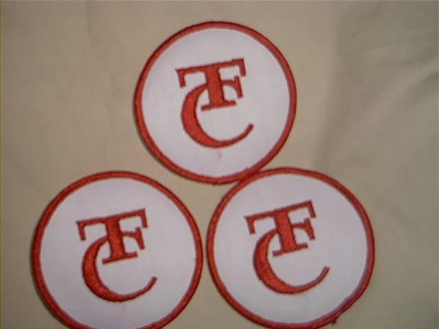 (3)  Thompson  / Center   blackpowder logo patches - Picture 1